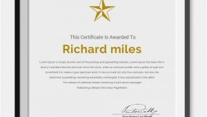 10 Year Service Award Certificate Template 25 Certificate Templates Free Premium Templates