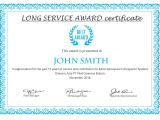 10 Year Service Award Certificate Template Printable Certificate Template 46 Adobe Illustrator