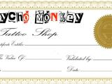 100 Gift Certificate Template Free Tattoo Gift Certificate Template Download Free Clip