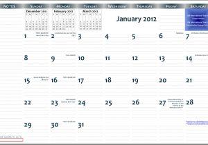 11×17 Calendar Template Word 2012 11 17 Printable Wall Calendar Pdf format Jazzsoup42