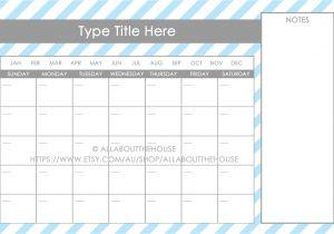 11×17 Calendar Template Word Printable 11×17 Calendar Online Calendar Templates