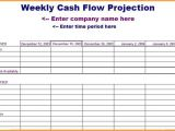 13 Week Cash Flow forecast Template 6 Cash Flow forecast Template Invoice Example