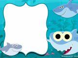 1st Birthday Invitation Card Free Download Free Printable Baby Shark Pinkfong Birthday Invitation