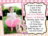 1st Birthday Invitation Card Free Download Minnie Mouse Invitations 1st Birthday with Images