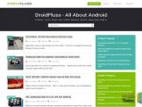 2 Column Responsive Email Template Droidpluss Responsive Blogger Template Free Graphics