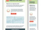 2 Column Responsive HTML Email Template 5 Responsive Newsletter Templates Mdirector Com
