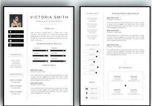 2 Page Resume Templates Free Download 50 Awesome Resume Templates 2016