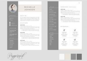 2 Page Resume Templates Free Download 50 Best Cv Resume Templates Of 2018 Design Shack