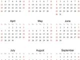 2014 12 Month Calendar Template 5 Best Images Of 2014 Calendar 12 Months On One Page
