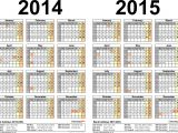 2014-15 Academic Calendar Template 16 Blank Calendar Template 2014 2015 Images August 2015