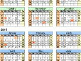 2014 15 Academic Calendar Template 16 Blank Calendar Template 2014 2015 Images August 2015