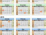 2014-15 Academic Calendar Template Academic Calendar 2014 15 Template 2014 Excel Calendar