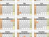 2015 Holiday Calendar Template 2015 Calendar with Federal Holidays Excel Pdf Word Templates
