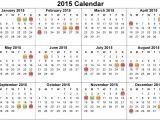 2015 Holiday Calendar Template 2015 Calendar with Holidays New Calendar Template Site