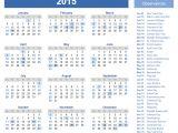 2015 Holiday Calendar Template Download Printable 2015 Calendar