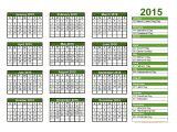 2015 Holiday Calendar Template Print 2015 Calendar Free 2017 Printable Calendar