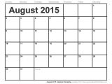 2015 Monthly Calendar Template for Word 2015 Monthly Calendar Template for Word Great Printable