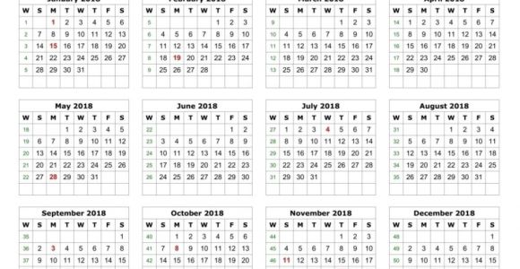 2018 Cd Calendar Template 2018 Calendar Printable Template