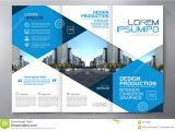3 Fold Brochure Design Templates Brochure 3 Fold Flyer Design A4 Template Stock Vector