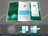 3 Fold Brochure Design Templates Professional Business Three Fold Flyer Template Stock