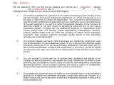 3 Month Employment Contract Template Probationary Employment Contract Sample