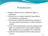 3 Month Trial Period Employment Contract Template Letter Of Employment Probationary Period