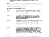 3 Month Trial Period Employment Contract Template Sample 90 Day Employee Review