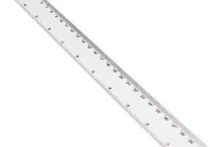 30cm Ruler Template Transparent Shatterproof Ruler 30 Cm Hobbycraft