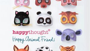 3d Animal Mask Templates Free to Happythought Members Printable Pdf Templates