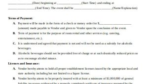 3rd Party Contract Template Sample Vendor Contract Agreement 8 Examples In Word Pdf