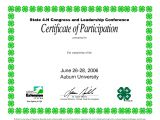 4-h Powerpoint Template Certificate Template Category Page 31 Efoza Com