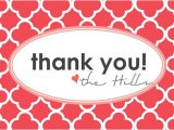 4 X 6 Thank You Cards Hillmade [printable] 4×6 Thank You Cards