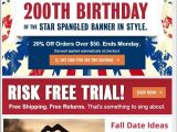 4th Of July Email Templates 4th Of July Email Templates to Fuel Independence Day Sales