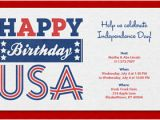 4th Of July Email Templates Free 4th Of July Free Online Invitations