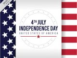 4th Of July Email Templates Free Independence Day Background with Flag Vector Free Download