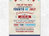 4th Of July Email Templates Free Items Similar to Printable 4th Of July Invitation Fourth