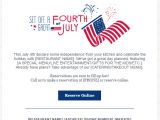 4th Of July Email Templates Free July 2017 Marketing and Holiday Planning Constant
