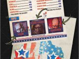 4th Of July Menu Template 4th Of July Menu Templates and Party Flyers In Pdf Eps