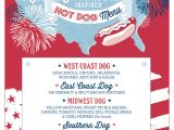 4th Of July Menu Template Free Printable 4th Of July Birthday Party Invitation