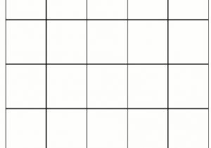 4×4 Bingo Template Bingo Card Template Beepmunk