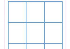 4×4 Bingo Template Family Game Night Bingo Dolen Diaries