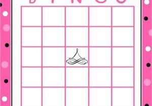4×4 Bingo Template Printable 4×4 Blank Bingo Cards Printable