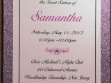 5 X 7 Cardstock with Border 5×7 3 Layer Invitation with A Thick Glitter Cardstock
