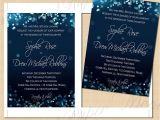 5 X 7 Cardstock with Border Night Sky Printable Wedding Invitations 5 X 7 Instant