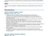 5 Years Experience software Engineer Resume software Quality Engineer Resume Samples Qwikresume