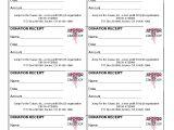 501 C 3 Donation Receipt Template 10 Best Images Of Non Profit Donation Receipt form Non