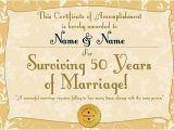 50th Wedding Anniversary Certificate Template 39 Golden Anniversary 39 Personalised Certificate A3
