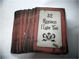 52 Reasons why I Love You Cards Templates Free the Epitome Of My Life 52 Reasons I Love You