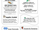 5th Grade Newsletter Template Best Photos Of Class Newsletter Template School