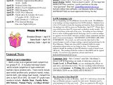 5th Grade Newsletter Template Best Photos Of Newsletter Examples Of Grade 1 Classroom